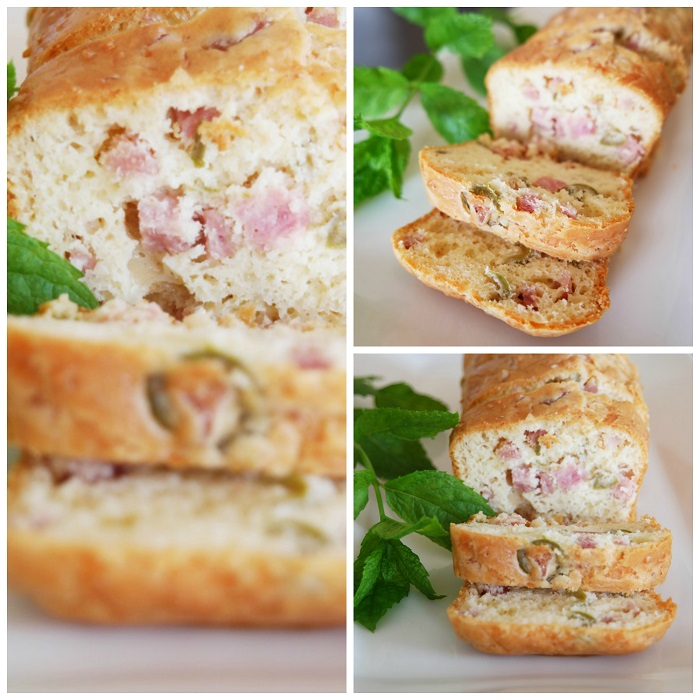 Cake Au Jambon Fromage Tomate