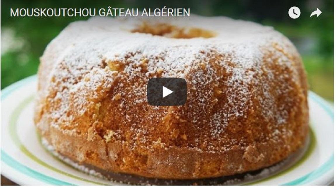 Mouskoutchou gateau algerien