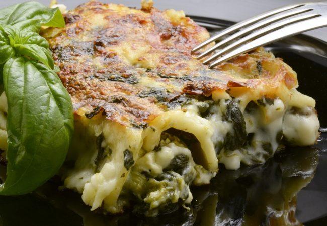 Lasagnes épinards ricotta