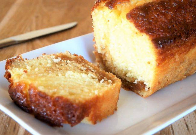 Gâteau au yaourt caramel beurre salé