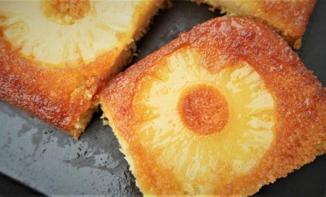 Gâteau moelleux à l'ananas facile
