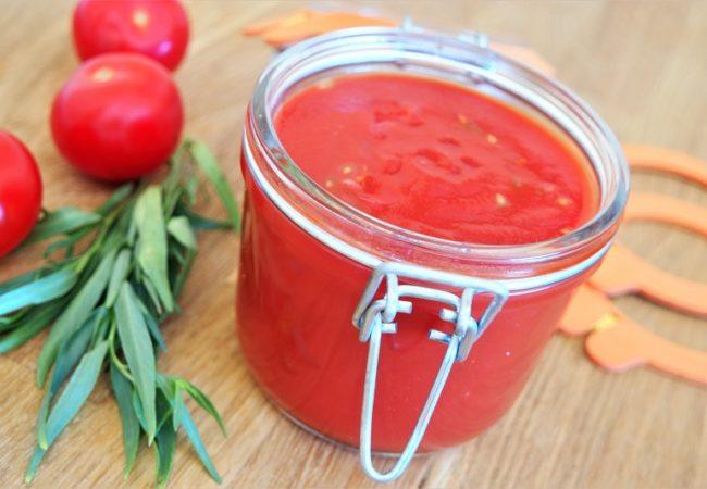 Conserves coulis de tomates avec les rondelles Easy de Hutchinson