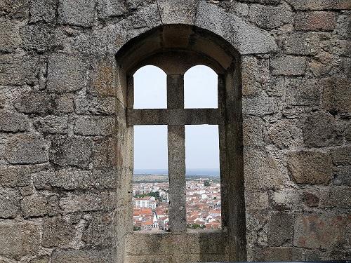 ruines du château de Castelo Branco