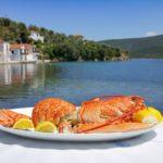 Homard Gastronomie Grecque : Ile de Trikeri Island