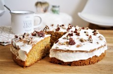 Vrai carrot cake traditionnel