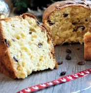 Le vrai Panettone traditionnel de Noël