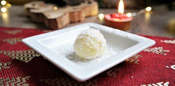 truffe au chocolat blanc noix coco