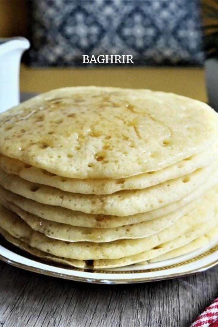 Baghrir inratable crepe mille trou