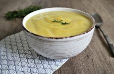soupe de céleri rave sans pomme de terre