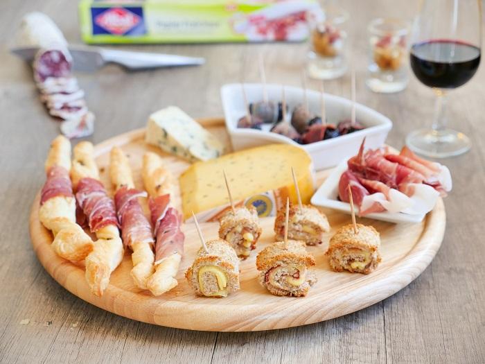 4 idée apero plateau charcuterie fromage