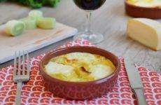 Flan de poireau au fromage