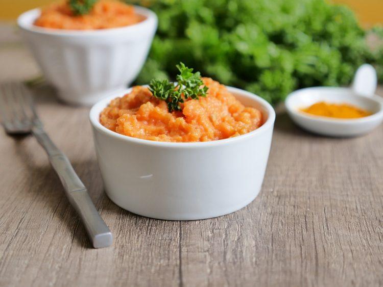 Purée de carottes onctueuse au cumin