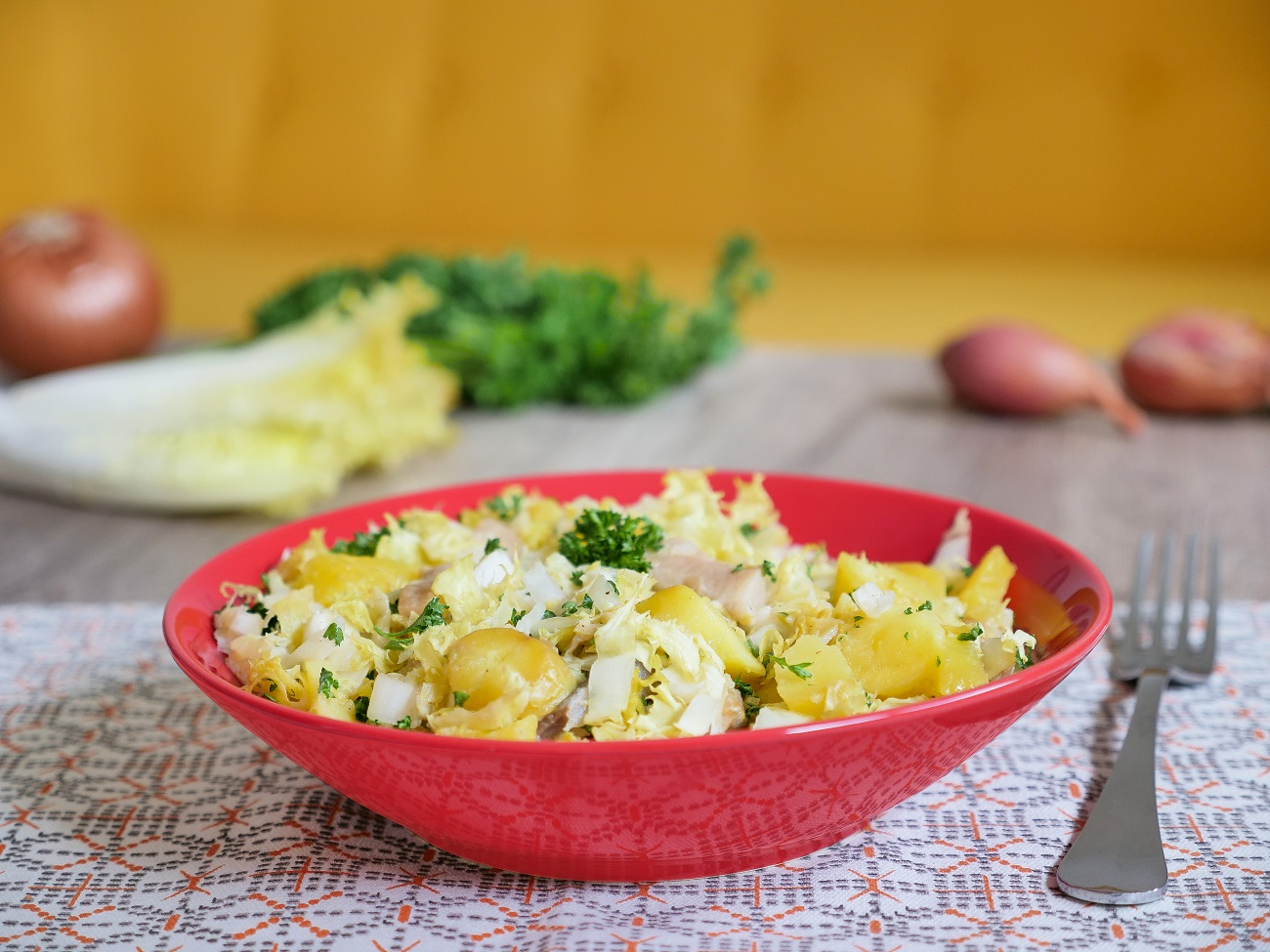 Recette salade tiède pommes de terre harengs