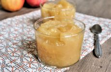 compote de pomme maison weight watchers