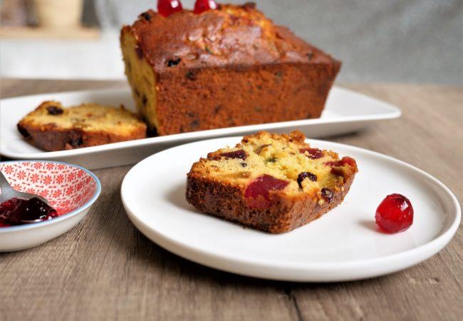 Délicieux cake aux fruits confits de Pierre Hermé