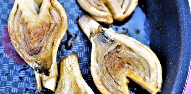 fenouil braisé caramélisé