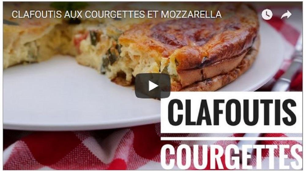 clafoutis courgette tomate mozarella