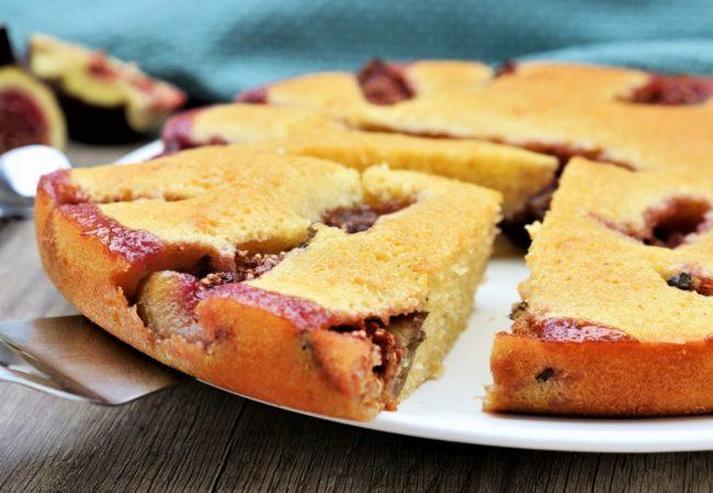 Gâteau aux figues fraîches