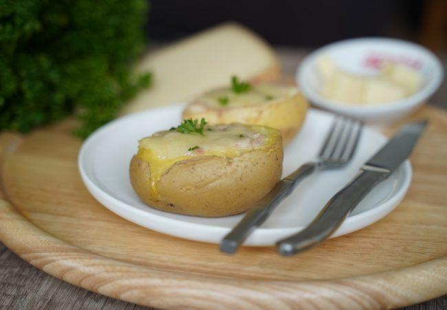 Pommes de terre farcies au fromage Appenzeller®