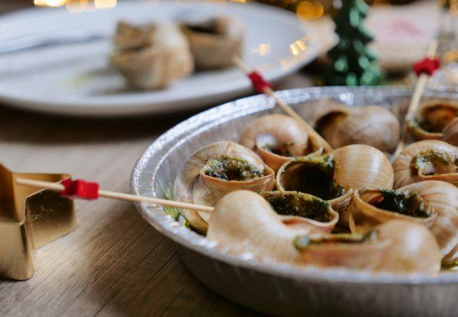 Escargots de Bourgogne au beurre persillé