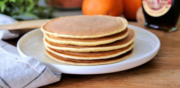 mes pancakes légers au fromage blanc