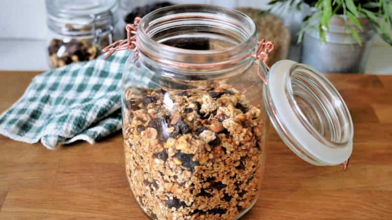 granola maison bon mauvais pour la santé