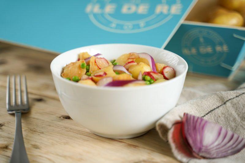 salade de pomme de terre printaniere