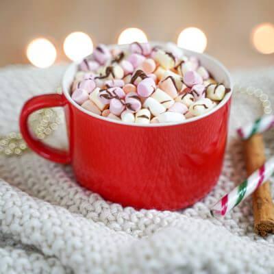Le chocolat chaud aux épices de Noël