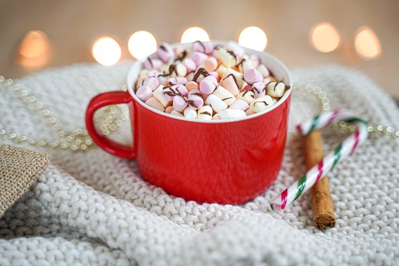 le chocolat chaud aux épices de noel
