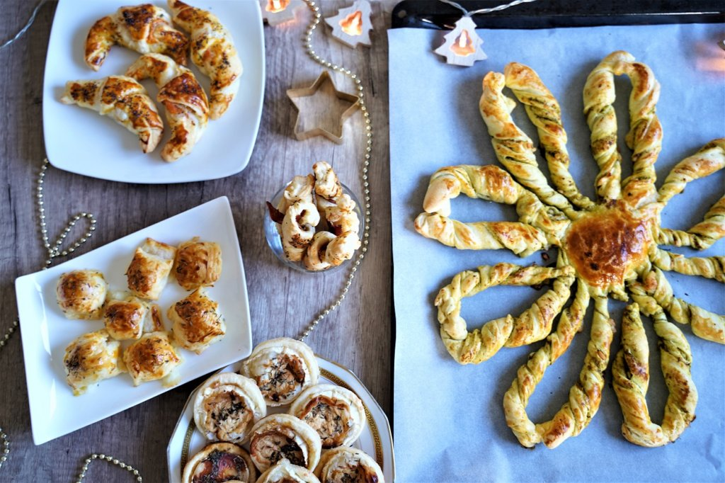 6 recettes pour l'apéritif à faire avec de la pâte feuilletée