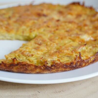 Gâteau de pommes de terre aux 3 fromages