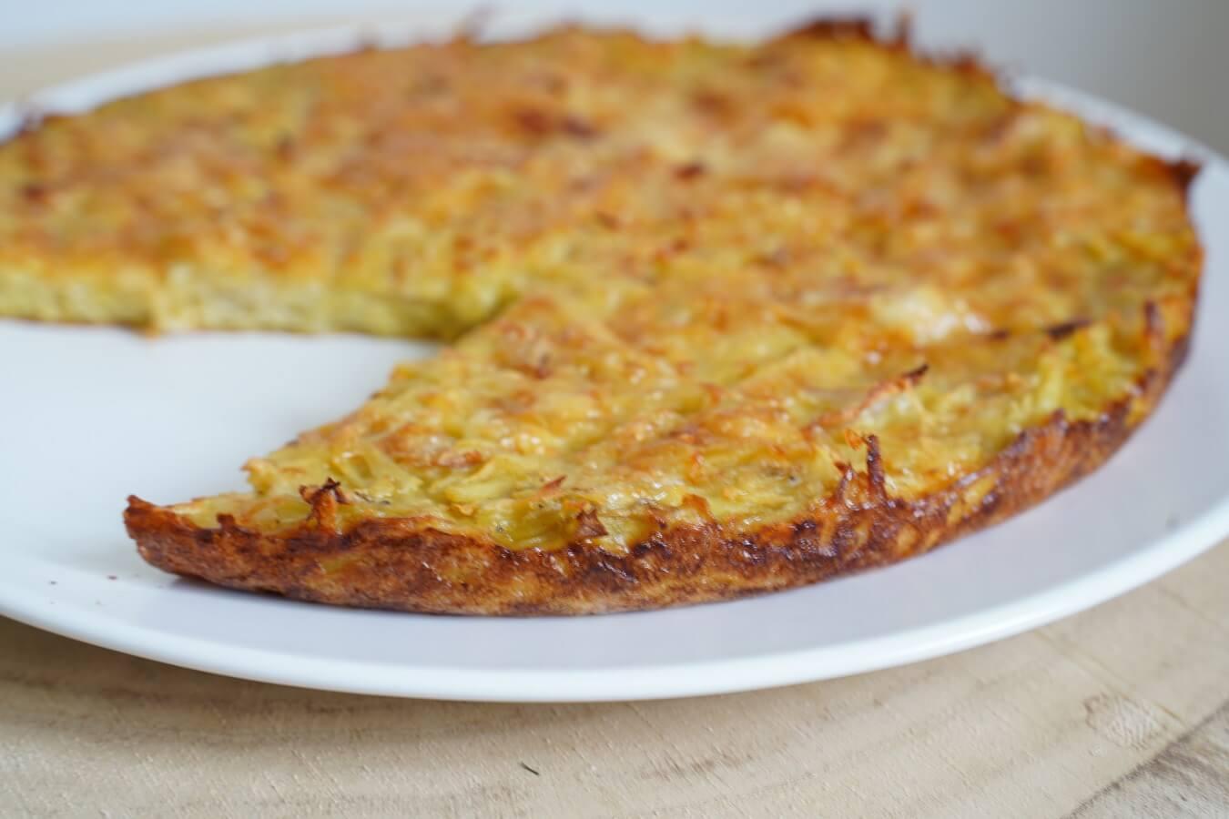 Gâteau de pommes de terre au 3 fromages