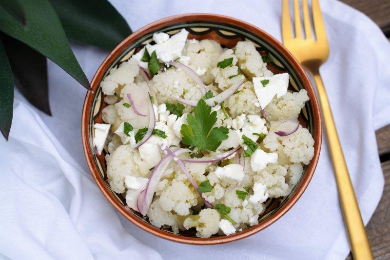 salade de chou fleur à la feta