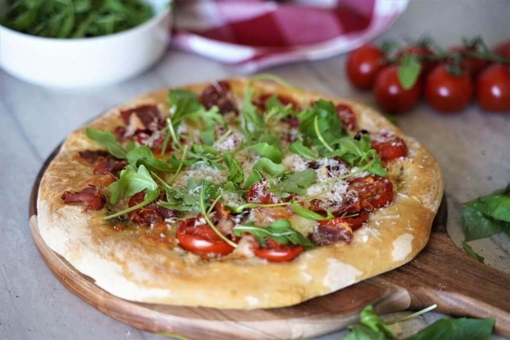 Pizza Bianca comme en Italie
