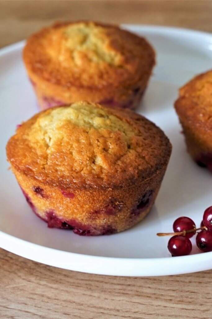 recette Muffins aux groseilles fraiches