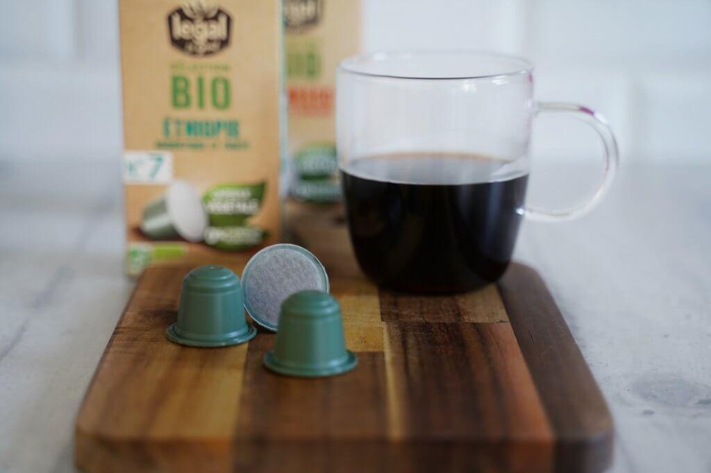 Cafés Legal  capsule végétale