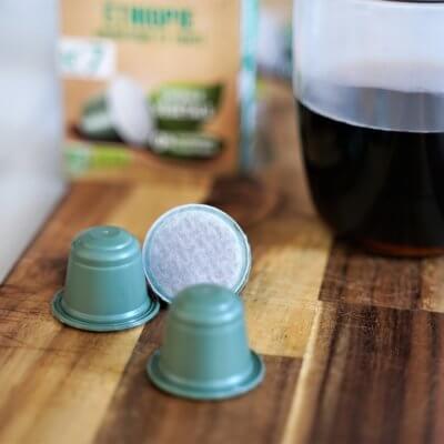Cafés Legal : capsule végétale révolutionnaire